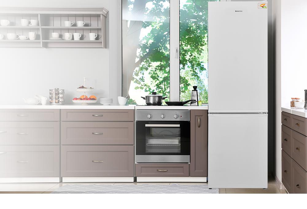 Combina frigorifica Vortex VO1002 design