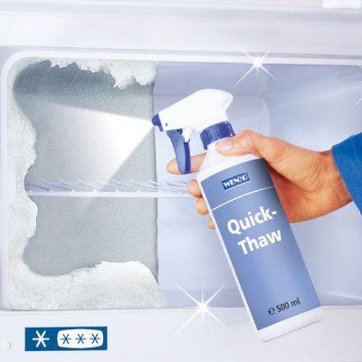 Dezghetarea congelatorului spray